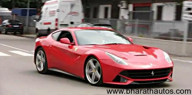 Ferrari F12 Berlinetta DRIFT and Accelerations