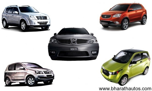 Mahindra 6-new models by March-2013