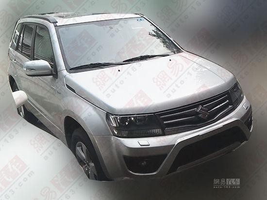 new Suzuki Grand Vitara SUV - 001