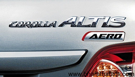 Toyota Corolla Altis Aero Limited Edition - 008