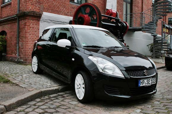 Suzuki Launches Swift Black White Special Edition In Germany
