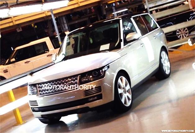 2013 Range Rover facelift