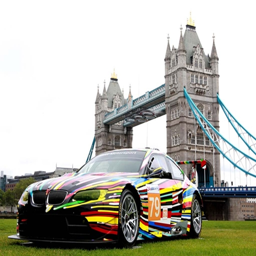 BMW Art Cars on exhibit at 2012 London Olympics