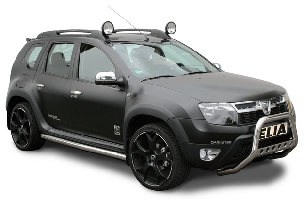 dacia duster received 2 new modification programs from eila. Black Bedroom Furniture Sets. Home Design Ideas