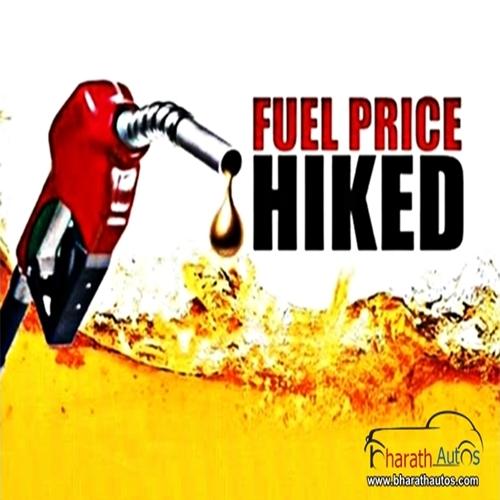 Petrol-Hiked