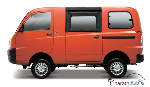 Mahindra Maxximo Hard Top Van - SideView
