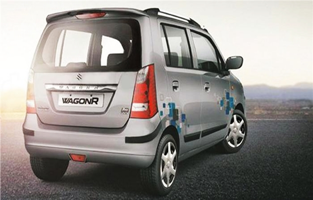 Maruti Wagon R Pro - RearView