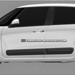 Fiat 500XL 7-seater patent drawings - 003
