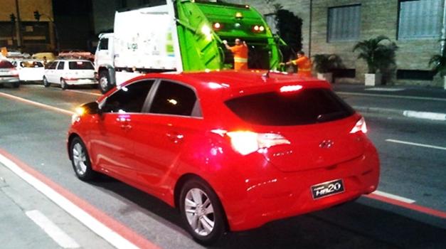 Hyundai HB20 - RearView
