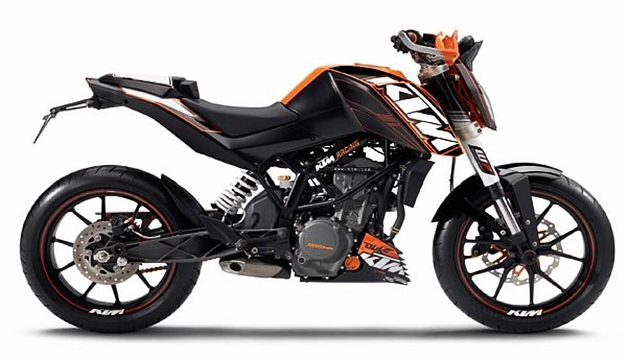 New Raceline Stickers for KTM Duke 200