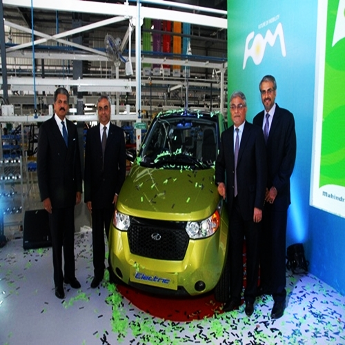 New Mahindra-Reva facility in Bangalore