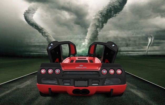 SSC Ultimate Aero XT Special Edition - RearView