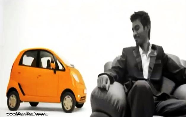 Dhanush new brand ambassador of Tata Nano