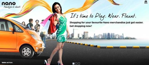 Tata Nano merchandise online store - 001