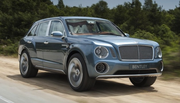 Bentley EXP 9 F SUV Concept - 001
