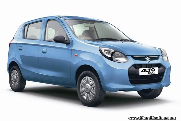 New Maruti Alto 800 - FrontView
