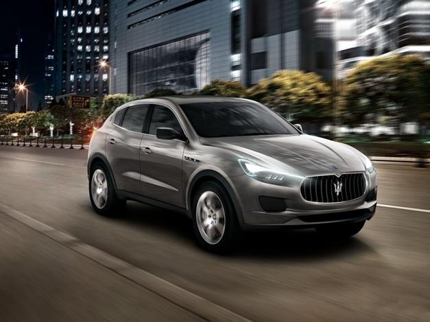 Maserati Kubang Concept - FrontView