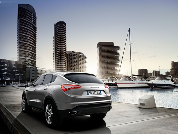 Maserati Kubang Concept - RearView