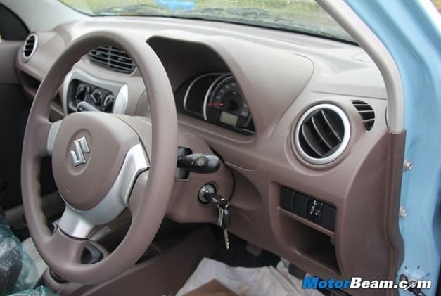 New Maruti Alto 800 Interiorview