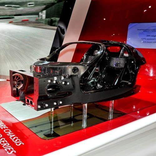 New Ferrari Enzo chassis