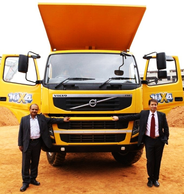 Volvo FM480 10×4 Dump Truck