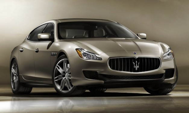 2013 Maserati Quattroporte - FrontView