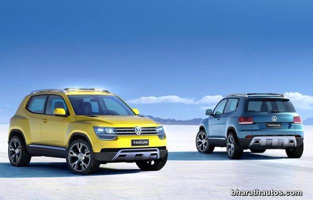 2012 Volkswagen Taigun Concept - ExteriorView