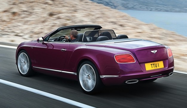2013 Bentley Continental GT Speed - RearView