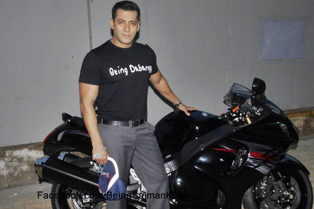 Salman Khan New Bike Suzuki