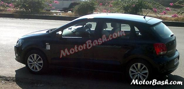 Spied Volkswagen Vento And Polo Cng Variant Caught Testing