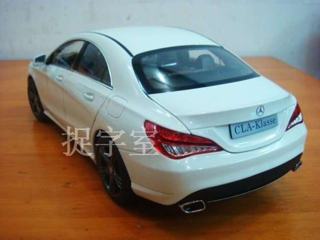 18 scale model of the 2014 Mercedes Benz CLA sedan hits interweb