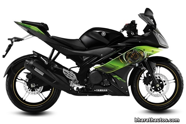New Yamaha R15 V2.0 - Thundering Green