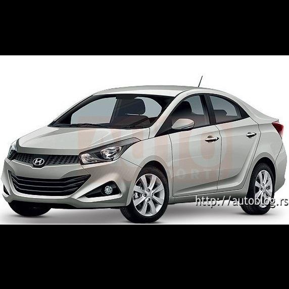 Hyundai i15 sedan
