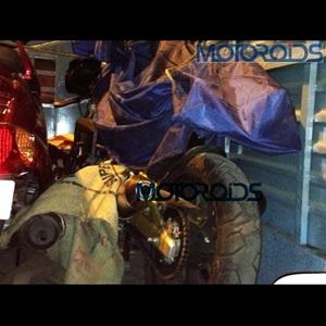 Mahindra Mojo 300 (Spied)