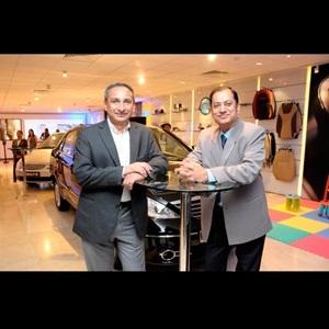 Tata Motors' flagship showroom for passenger vehicles