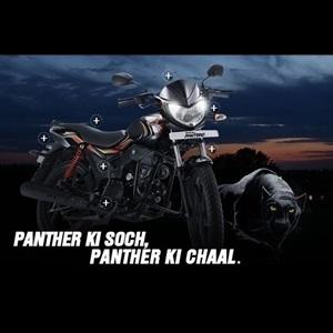 Mahindra Pantero 110cc motorcycle