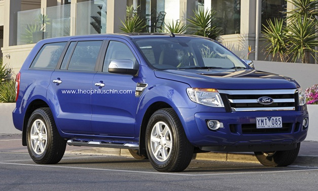 Photo Rendering – 2014 Ford Endeavour could look like this