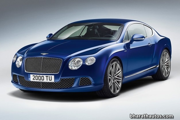 2013 Bentley Continental GT Speed - FrontView