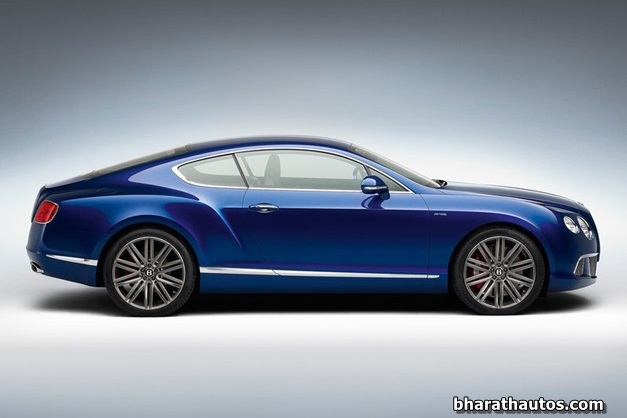 2013 Bentley Continental GT Speed - SideView