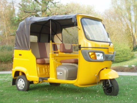 Diesel powered TVS King autorickshaw