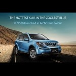 Mahindra XUV500 - Arctic Blue color
