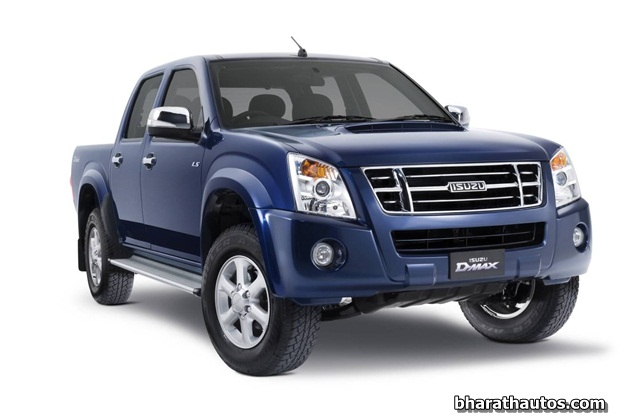 2013 Isuzu D-Max Crew Cab Pick Up Truck