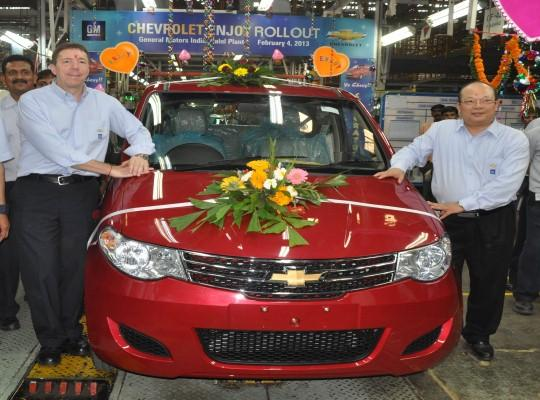 Chevrolet gets hand into MPV segment