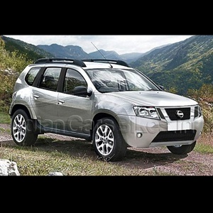 Nissan's Duster-based compact SUV - FrontView