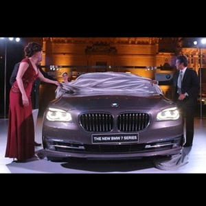 2013 BMW 7-Series unveiled by Sachin Tendulkar in Jodhpur