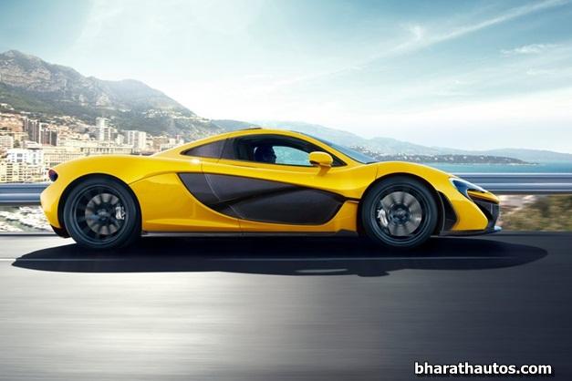 2014 McLaren P1 - SideView