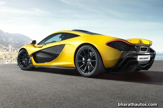 2014 McLaren P1 - RearLeftSideView