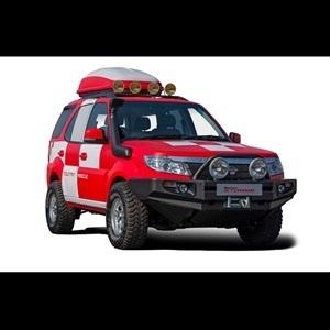 Tata Safari Strome Mountain Rescue Concept