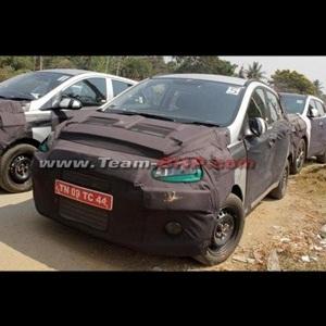Next-gen Hyundai i10 (Spied)