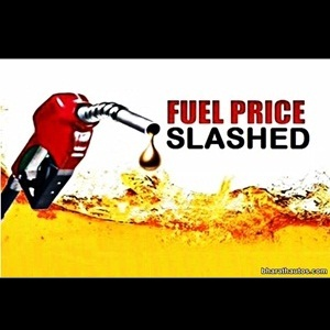Petrol prices to be slashed by Rs 2.00 per litre effective from midnight